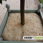 Herbi'Chanvre Carré de paillage 56x56cm - 100% Chanvre Naturel - 100% Français (par lot de10) de la marque Herbi'Chanvre image 1 produit