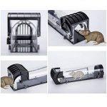 HomemoH Souricières intelligents sans cruauté, 2 Pack Flexible Rodent animal nuisible Contrôle de la souris piège capture en direct de la marque HomemoH image 3 produit