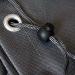 Housse de protection Deluxe Monkey Mountain® 30295 pour chaise de jardin/chaise empilable avec sac de transport-65cm x 65cm x 120cm/80cm-Polyester Oxford 420deniers de la marque Monkey Mountain image 3 produit