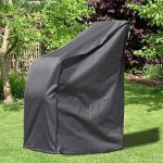 Housse de protection Deluxe Monkey Mountain® 30295 pour chaise de jardin/chaise empilable avec sac de transport-65cm x 65cm x 120cm/80cm-Polyester Oxford 420deniers de la marque Monkey Mountain image 1 produit