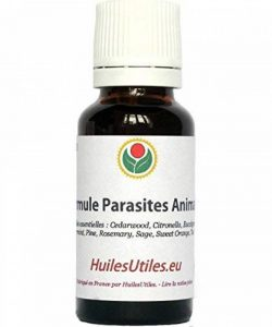HuilesUtiles - La Formule Parasites Animaux - 20 ml de la marque Huiles Utiles image 0 produit