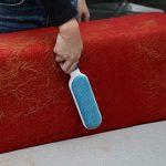 iHomy _Anti-poils brosse pour animal domestique - Brosse de nettoyage magique réutilisable pour enlever les poils d'animaux de compagnie avec Auto-nettoyage retirer Chien Chat Cheveux (Bleu) de la marque iHomy image 4 produit