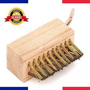 IMAKAR® Brosse métallique de désherbage, avec grattoir de mauvais herbe. Cette brosse de désherbage manuel est parfaite pour nettoyer votre exterieur, et enlever les mauvaises herbes & mousse de la marque IMAKAR image 0 produit