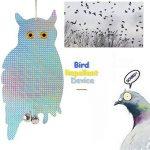 iNeibo 2pcs Hibou Épouvantail réfléchissant Anti Oiseaux et Nuisible (Bleu) de la marque iNeibo image 3 produit