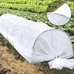 JYCRA Plante Mini serre, tunnel, 25,5gram Plante Row Coque et 6pcs en acier avec revêtement plastique Cerceaux pour serre Jardin plantes protection et Croissance de la marque JYCRA image 4 produit