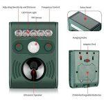 Kaifire Répulsifs Chat, ultrasons solaire Chat Animal Distributeur étanche Défense défense(avec capteur infrarouge) de la marque Kaifire image 1 produit