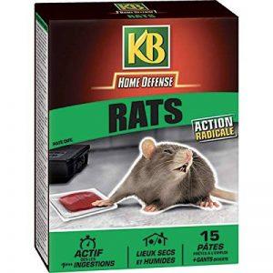 KB Pates Appat Anti-Rats 150gr de la marque KB image 0 produit