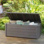 Keter/chalet et jardin 12COFFRELUXE455L Coffre de Rangement pour le Jardin Taupe 455 L de la marque Keter image 4 produit