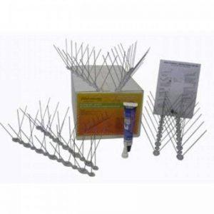 Kit de 2 mètres avec colle pics anti pigeons prêt à l'emploi Ultra 2 de la marque depigeonnal image 0 produit