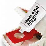 La souris au fromage et son attractif pour rats (appât naturel sans poison, attire les rongeurs, réapparaît jusqu'à 60 pièges), tube de 26 g de la marque The Big Cheese image 4 produit
