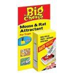 La souris au fromage et son attractif pour rats (appât naturel sans poison, attire les rongeurs, réapparaît jusqu'à 60 pièges), tube de 26 g de la marque The Big Cheese image 1 produit