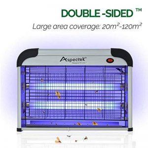 Lampe UV. Tue-Mouches Destructeur d' Insectes Electrique 20W. Tue Mouche Electrique Lampe Insecte de la marque Aspectek image 0 produit