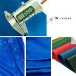 LAXF-Bâches DIKA UK bâche armée de protection/Bâche résistante imperméable de bâche/feuille de bâche, 480g/m², vert - 100% imperméable et UV protégé de la marque LAXF-Bâches image 2 produit