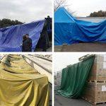 LAXF-Bâches DIKA UK bâche armée de protection/Bâche résistante imperméable de bâche/feuille de bâche, 480g/m², vert - 100% imperméable et UV protégé de la marque LAXF-Bâches image 3 produit