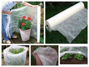 Le drap de protection en polaire pour les plantes et cultures du jardin Contre les insectes et le gel de la marque Bestvaluethings image 0 produit