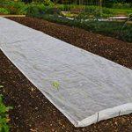 Le drap de protection en polaire pour les plantes et cultures du jardin Contre les insectes et le gel de la marque Bestvaluethings image 2 produit