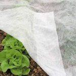 Le drap de protection en polaire pour les plantes et cultures du jardin Contre les insectes et le gel de la marque Bestvaluethings image 4 produit