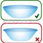 Lentilles de contact Aveugle Total Blind sans correction de la marque MYSA-LENS image 4 produit