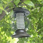 Longra Énergie solaire Lampes de tueur de moustique Lampe portative de moustique électrique Lampe UV Tue-Mouches Destructeur d' Insectes Electrique Tue Mouche Electrique Lampe Insecte (Marron) de la marque Longra Home image 1 produit