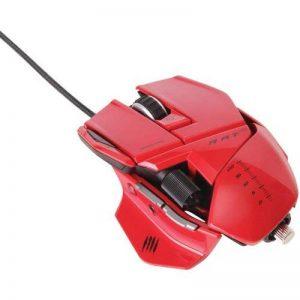 Mad Catz D20-MCB437050013 Rat 5 Souris de jeu filaire Rouge laqué de la marque Mad Catz image 0 produit