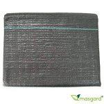 Masgard® Ruban adhésif 100g/m² Fond Tissu anti-mauvaises herbes de différentes dimensions haute stabilisation des UV 1,00 m x 20,00 m = 20 m² (gefaltet) Noir de la marque Masgard® image 1 produit