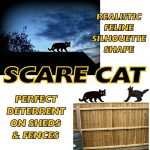 Medipaq - Effrayer Jardin Chat Avec Les Yeux En Réfléchissant- Dissuasion Cat de la marque Medipaq image 1 produit