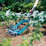 Émietteur-sarcleuse Combisystem de GARDENA: émietteur pour la préparation des lits de semences et l'ameublissement du sol, largeur de 14 cm, en acier de haute qualité, revêtement Duroplast (3195-20) de la marque Gardena image 1 produit