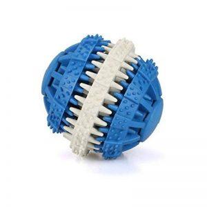 MixMart - Boule/jouet à mâcher non toxique en caoutchouc pour chiens, parfumé à la menthe de la marque MixMart image 0 produit