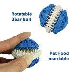 MixMart - Boule/jouet à mâcher non toxique en caoutchouc pour chiens, parfumé à la menthe de la marque MixMart image 4 produit
