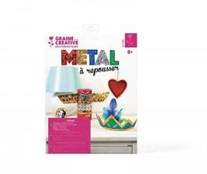Métal à repousser 5 couleurs 5 feuilles 18,5x29 cm - Graine créative de la marque Graine-Créative image 0 produit