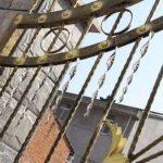 Mtl Bird Répulsif Wind Torsion Scare tiges réfléchissant Blinder tiges, jardin Pest Control efficace et élégante à suspendre Bird Pest Bird contrôle Lot de 5(30,5cm) de la marque MTL image 4 produit