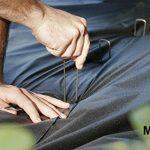 MySit 200 Piquets de fixation en acier agrafes de jardin 150 mm, 25 mm large, Ø 3,0 mm en forme de U la fixation paysage des tissus anti mauvaises herbes molleton imperméables de la marque MySit image 2 produit