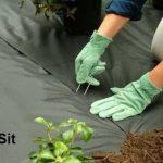 MySit 50 Piquets de fixation en acier Galvanise agrafes de jardin 150 mm, 25 mm large, Ø 3,0 mm en forme de U traité antirouille la fixation paysage des tissus anti mauvaises herbes molleton imperméables de la marque MySit image 4 produit