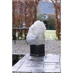 Nature Housse d'hivernage 50 g/m² - Ø100 cm x 1,50 m - Beige de la marque Nature image 1 produit