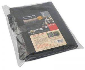 NOOR 01009010UKSC Bâche anti-mauvaises herbes Noir 0,9 x 10 m (Import Allemagne) de la marque NOOR image 0 produit