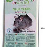 NUISIPRO Piège à colle, 3 lots = 6 plaques plastique de glu anti rat et anti souris de la marque NUISIPRO image 2 produit