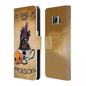 Officiel Ash Evans Poison Chats sur Chopes Étui Coque De Livre en Cuir pour Samsung Galaxy S7 de la marque Head Case Designs image 0 produit