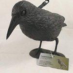 Oiseau SCHRECK–effrayer les pigeons Corbeau–40cm Figurine pour le jardin de la marque Taubenschreck Rabe image 2 produit