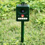 oneAlps Répulsif à ultrasons Drillpro Pest Repeller solaire Ultrasonique pour animaux chat chien renard Cerf Rongeur repeller pour ferme de la marque oneAlps image 4 produit