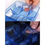 OUNONA Pièges cafard réutilisables cafards cafard boîte de piégeage cafard cafard pour cuisine salle de bains toilettes (bleu) de la marque OUNONA image 3 produit