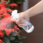 Ounona Plastique Flacon pulvérisateur 200ml bouteilles non toxique Sans odeur Pulvérisateur anti-fuite pour produits de nettoyage Jardin Traitement 2pcs (Transparent) de la marque OUNONA image 4 produit