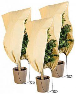 Pack de 3 housses d'hivernage L - 100 x 80 cm, 80 g/m² de la marque Royal gardineer image 0 produit