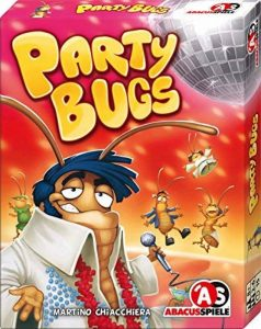 Party Bugs: Bluffspiel mit einfachen Spielregeln, Spieldauer: Ca. 15 Min, Für 2 BIS 6 Spieler de la marque Michael Menzel image 0 produit