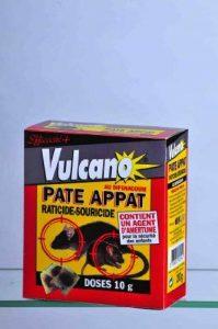 Pate Raticide/Souricide Prêt à l'emploi Boite de 200 grs de la marque Vulcano image 0 produit