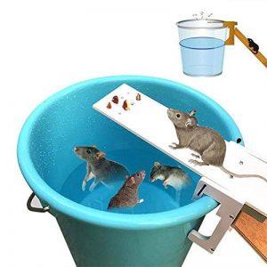 Pawaca Piège à souris, Walk Le piège de la souris Plank Réinitialisation automatique piège à rongeurs, attrape-souris humain, ne tue pas - Écologique et réutilisable de la marque Pawaca image 0 produit