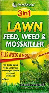 Pestshield 3en 1Lawn Feed, mauvaises herbes et anti-mousse 450g de la marque Pestshield image 0 produit