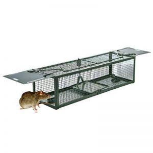 Pièges à rats Piège de Capture Deux Entrées Cage Piege pour Souris Rongeurs Mulots 39X13X11CM de la marque DSNOW image 0 produit