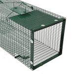 Piège de Capture - Cage - 1 Entrée - Poignée de transport - 90x30x30cm - Infaillible - Pour Chats Castor Lapin de la marque Moorland image 2 produit