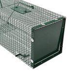 Piège de Capture - Cage - 1 Entrée - Poignée de transport - 90x30x30cm - Infaillible - Pour Chats Castor Lapin de la marque Moorland image 3 produit
