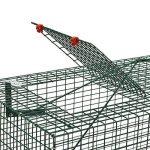 Piège de Capture - Cage - 1 Entrée - Poignée de transport - 90x30x30cm - Infaillible - Pour Chats Castor Lapin de la marque Moorland image 4 produit